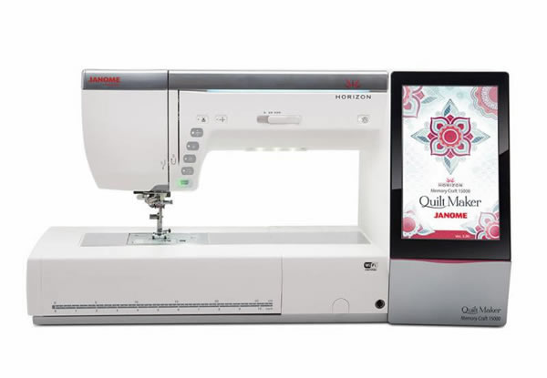 The New Janome 15000 The Quilt Maker Model Tom S
