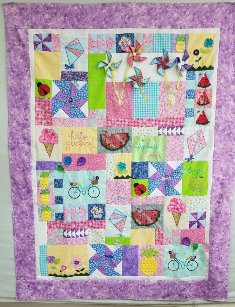 Hello Sunshine Quilt Class - Tom's Sewing