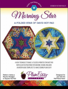 PlumEasy Morning Star/A Folded Star of David Hot Pad