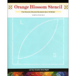 PlumEasy Patterns Orange Blossom Quilt Stencil